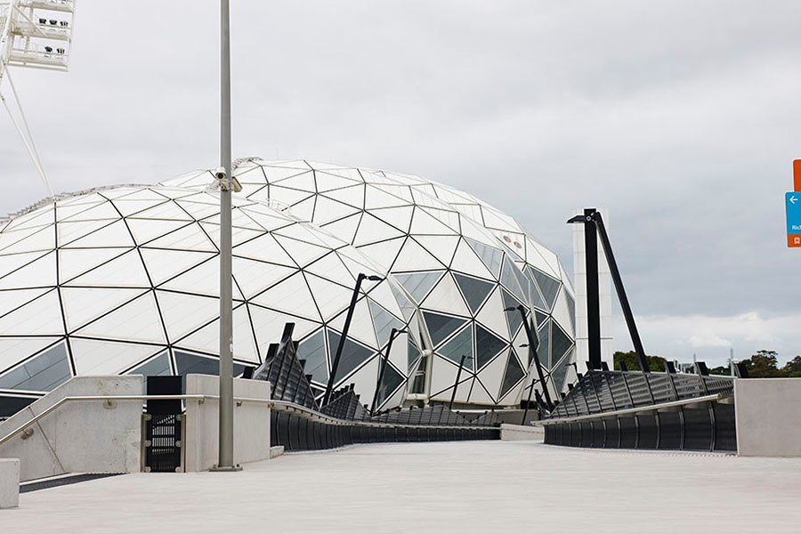 architecture & access olympic and melbourne parks redevelopment