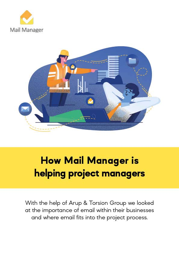 How mail manager is helping project managers